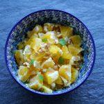 Fruchtiger Orangen Salat mit Walnüssen